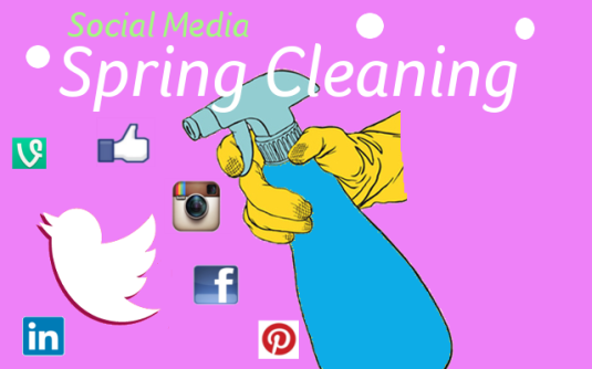 Marianne Granum - Social Media Spring Cleaning